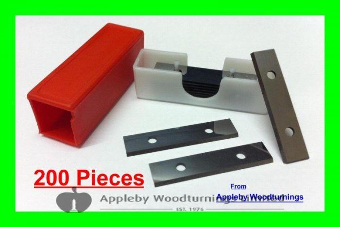 20 Boxes (200pcs) 50mm 2 inch Carbide Scraper Blades To Suit Stanley Hand Held Scrapers