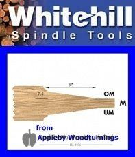 1 Set of Whitehill Panel Raiser Knives & Limiters Profile OM