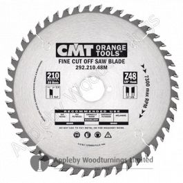 216mm Z=64 Neg CMT Mitre Cross Cut Saw Blade
