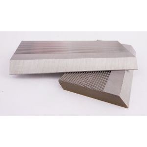 1 Pair HSS Serrated Profile Blanks 100 x 40 x 8 mm