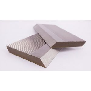 1 Pair HSS Serrated Profile Blanks 100 x 50 x 8 mm