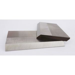 1 Pair HSS Serrated Profile Blanks 100 x 70 x 8 mm