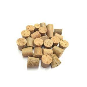 9mm Balau Tapered Wooden Plugs 100pcs