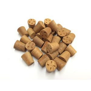 17mm Mahogany Tapered Wooden Plugs 100pcs