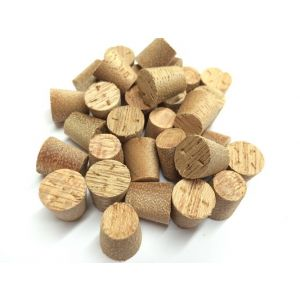 14mm Meranti Tapered Wooden Plugs 100pcs
