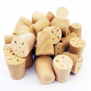 10mm Cherry Tapered Wooden Plugs 100pcs