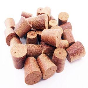 10mm Massaranduba Tapered Wooden Plugs 100pcs