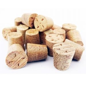 17mm Meranti Tapered Wooden Plugs 100pcs supplied by Appleby Woodturnings