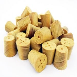 3/8 Inch Parana Pine Tapered Wooden Plugs 100pcs