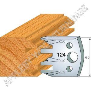 Profile No. 124  40mm Euro Knives, Limitors and Sets