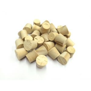 28mm Accoya Tapered Wooden Plugs 100pcs