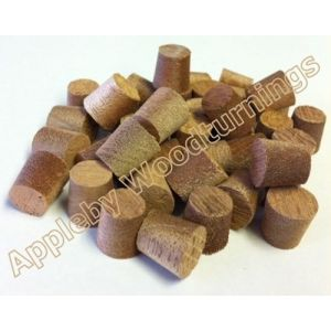 1/2 Inch Lauan Tapered Wooden Plugs 100pcs