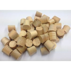 1/2 Inch Parana Pine Tapered Wooden Plugs 100pcs