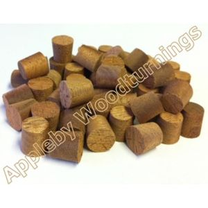 9mm Utile Tapered Wooden Plugs 100pcs