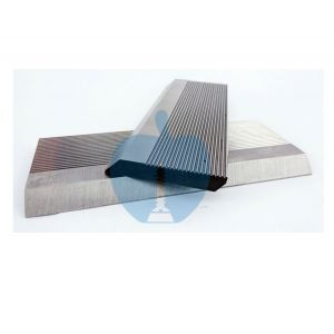 1 Pair HSS Serrated Profile Blanks 130 x 50 x 8 mm