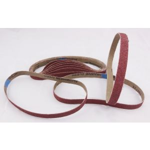 10 Pack 60 Grit Sanding Belts 13 x 457mm