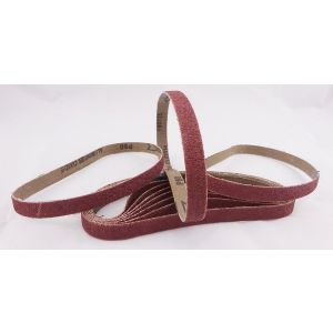 80 Pack 80 Grit Sanding Belts 13 x 457mm