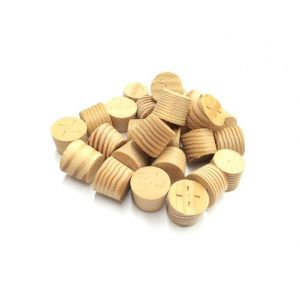15mm Columbian Pine Tapered Wooden Plugs 100pcs