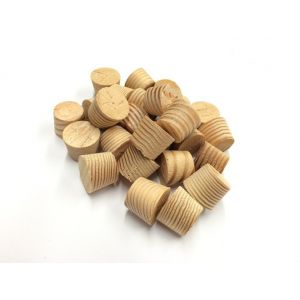15mm Douglas Fir Tapered Wooden Plugs 100pcs