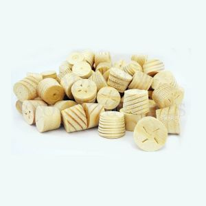16mm Softwood Tapered Wooden Plugs 100pcs