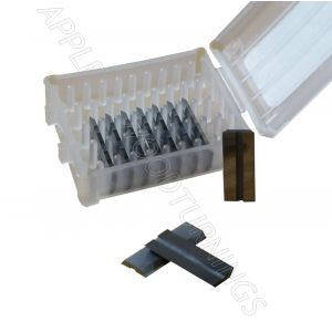 19.7 x 8 x 1.52mm Reversible Knives Solid Carbide Replacement Tips to suit LEITZ