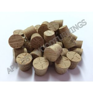 13mm American White Oak Tapered Wooden Plugs 100pcs