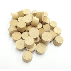17mm Brown MDF Tapered Wooden Plugs 100pcs