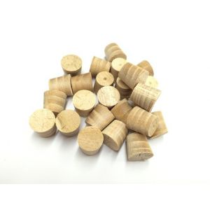 "1/2"" Elm Tapered Wooden Plugs 100pcs"