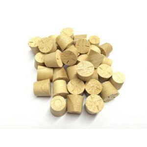 13mm Idigbo Tapered Wooden Plugs 100pcs