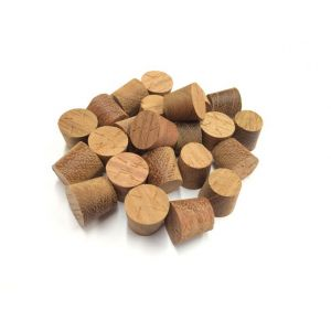 12mm Jatoba Tapered Wooden Plugs 100pcs