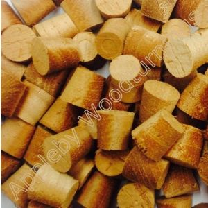 1/2 Inch African Mahogany Tapered Wooden Plugs 100pcs