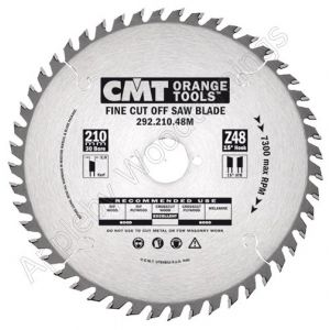 216mm Z=48 Neg CMT Mitre / Cross Cut Saw Blade 291.216.48M