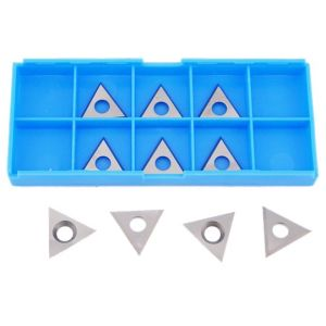 22 x 19 x 2mm Solid Carbide Triangle Spur Tips