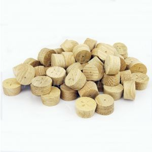 25mm European Oak Tapered Wooden Plugs 100pcs