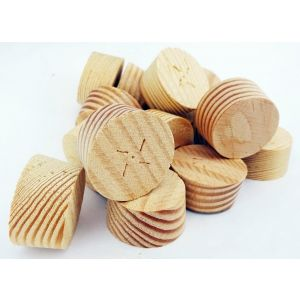 34mm Douglas Fir Tapered Wooden Plugs 100pcs