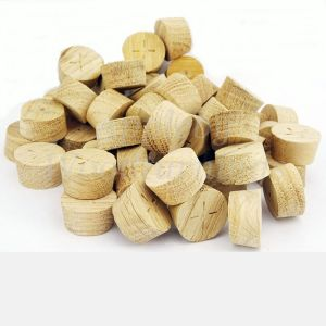 26mm European Oak Tapered Wooden Plugs 100pcs