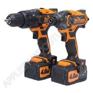 Triton 20v T20 Twin Pack Drills 275297 T20TP02