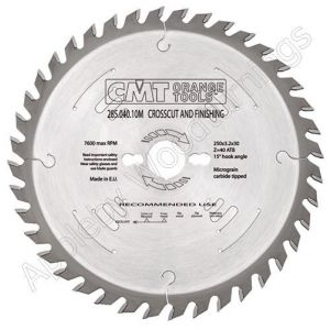 260mm Z=60 Neg CMT Cross Cut Saw Blade  294.060.11M