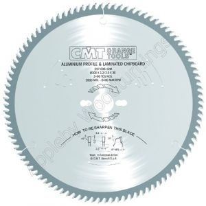 350mm Z=108 Neg CMT Cross Cut Saw Blade  297.108.14M