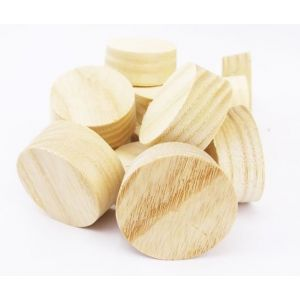 32mm Ash American White Tapered Wooden Plugs 100pcs