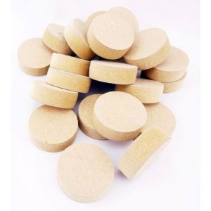35mm x 12mm Straight Sided Brown MDF Wooden Plugs 100pcs