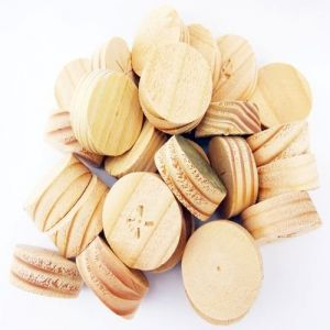 35mm Columbian Pine Tapered Wooden Plugs 100pcs
