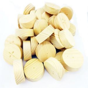 35mm Softwood Tapered Wooden Plugs 100pcs