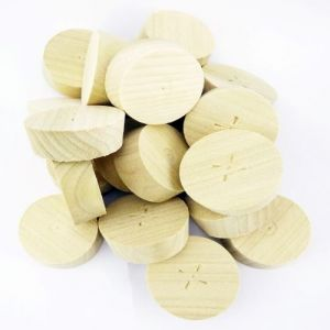 35mm Tulipwood Tapered Wooden Plugs 100pcs