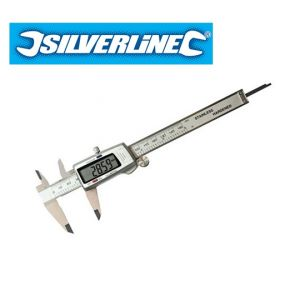 Silverline 150mm Digital Vernier Calipers 380244