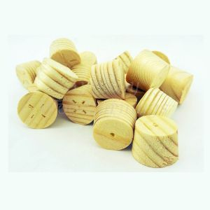 55mm Softwood / Pine Tapered Wooden Plugs 100pcs