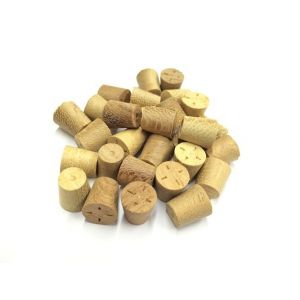 11mm Iroko Tapered Wooden Plugs 100pcs