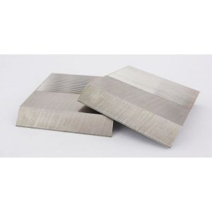 1 Pair HSS Serrated Profile Blanks 40 x 50 x 8mm