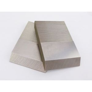 1 Pair HSS Serrated Profile Blanks 40 x 60 x 8mm