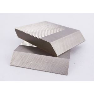 1 Pair HSS Serrated Profile Blanks 50 x 40 x 8 mm
